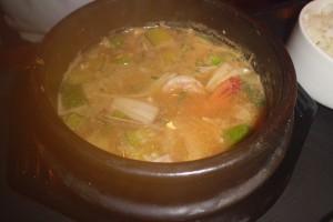 韓国味噌チゲ