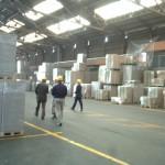 韓国の工場