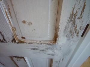 アンティーク塗装ドア