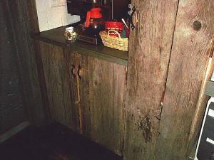 古材バーンボードの施工例