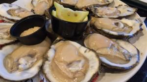 ニューオーリンズは生牡蠣も有名です。
