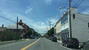 アメリカの田舎の町