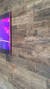 古材オークの壁材